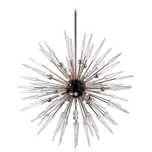 Hudson Valley Lighting Hudson Valley Lighting Sparta Polished Nickel Chandelier 9048-PN