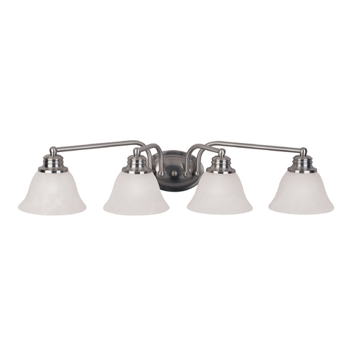Maxim Lighting Maxim Lighting Malibu Satin Nickel Bathroom Light 2689MRSN