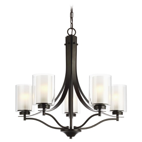 Sea Gull Lighting Sea Gull Lighting Elmwood Park Heirloom Bronze Chandelier 3137305-782