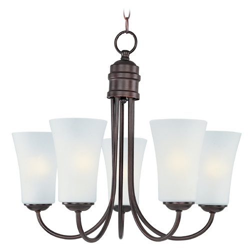 Maxim Lighting Maxim Lighting Logan Oil Rubbed Bronze Chandelier 10045FTOI