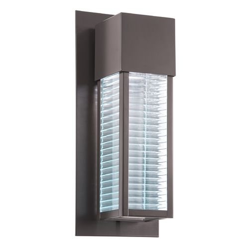 Kichler Lighting Kichler Lighting Sorel Architectural Bronze LED Outdoor Wall Light 49118AZLED