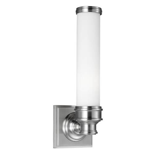 Feiss Lighting Feiss Lighting Payne Brushed Steel Sconce VS48001-BS
