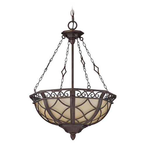 Jeremiah Lighting Jeremiah Lighting Evangeline Peruvian Bronze Pendant Light 36443-PR