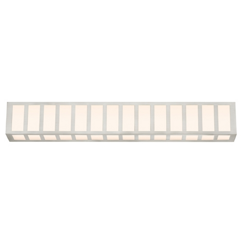 Sonneman Lighting Capital Satin Nickel LED Bathroom Light - Vertical or Horizontal Mounting 2518.13