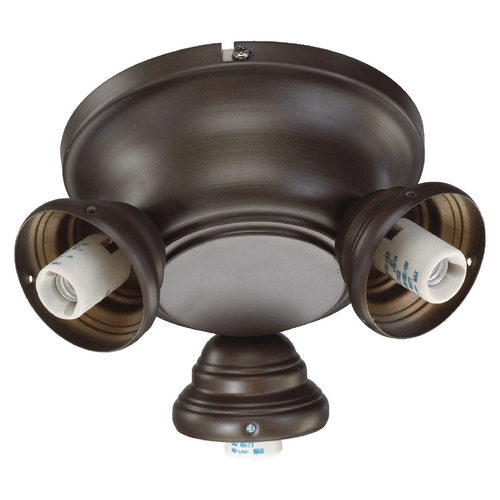 Quorum Lighting Quorum Lighting Salon Oiled Bronze Fan Light Kit 2383-9086
