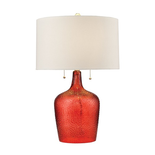 Dimond Lighting Dimond Lighting Blood Orange Table Lamp with Drum Shade D2690