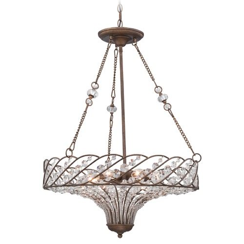 Lite Source Lighting Lite Source Vevina Mocha Pendant Light C71335