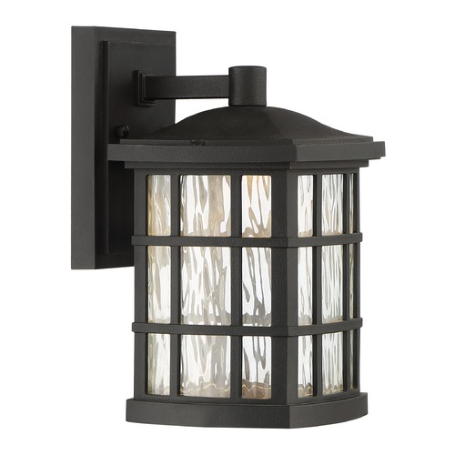 Quoizel Lighting Quoizel Lighting Stonington LED Matte Black Outdoor Wall Light SNNL8406K