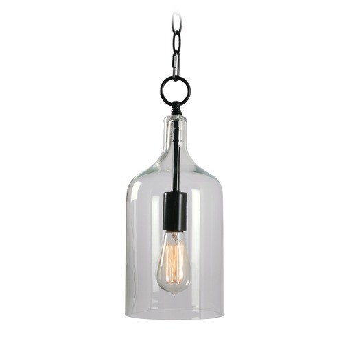 Kenroy Home Lighting Mid-Century Modern Mini-Pendant Light Oil Rubbed Bronze Capri by Kenroy Home 91831ORB
