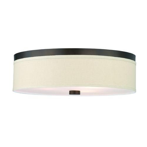 Philips Lighting Modern Flushmount Lights in Sorrel Bronze Finish F131920U