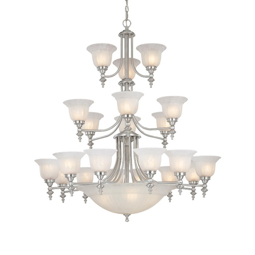 Dolan Designs Lighting Twenty-Four Light Chandelier 663-09