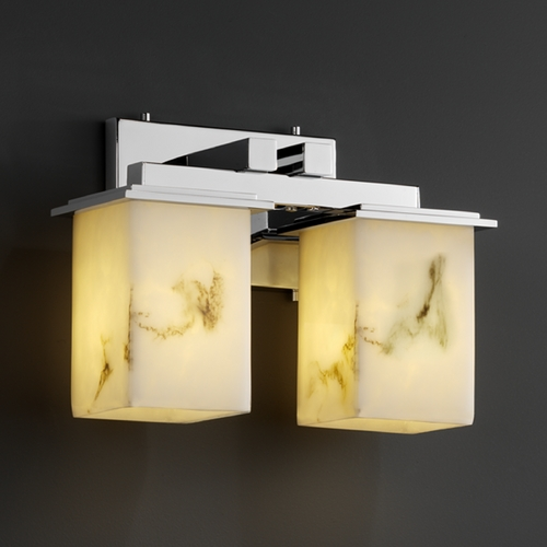 Justice Design Group Justice Design Group Lumenaria Collection Bathroom Light FAL-8672-15-CROM