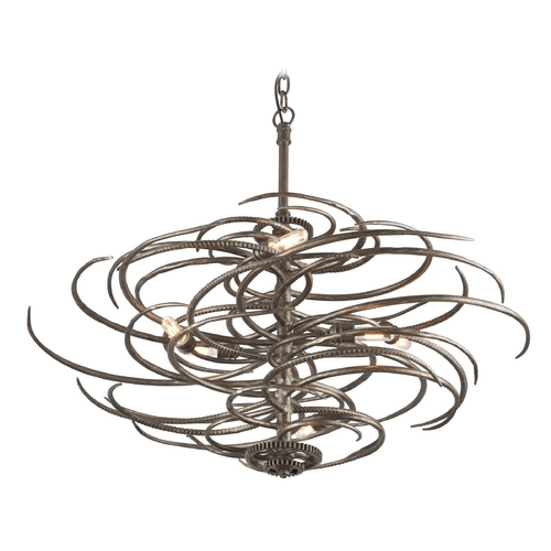Troy Lighting Pendant Light in Revolution Bronze Finish F3676
