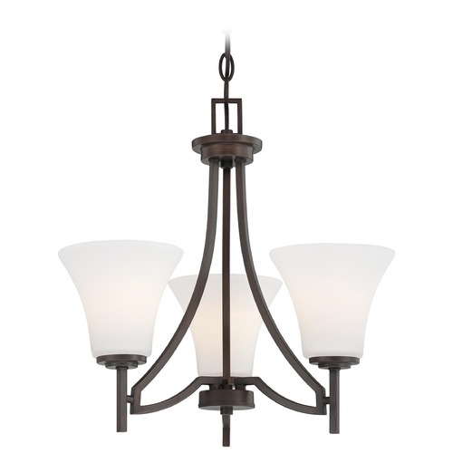 Minka Lavery Minka Lighting Middlebrook Vintage Bronze Mini-Chandelier 4933-284