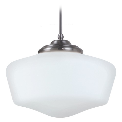 Sea Gull Lighting Sea Gull Lighting Academy Brushed Nickel LED Pendant Light 6543991S-962