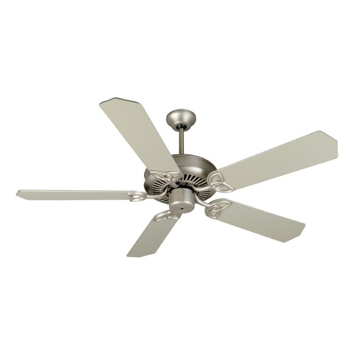 Craftmade Lighting Craftmade Lighting Cxl Brushed Satin Nickel Ceiling Fan Without Light K10942