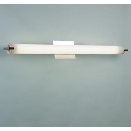 Illuminating Experiences Elf Satin Nickel Bathroom Light - Vertical or Horizontal Mounting ELF36FT5SN