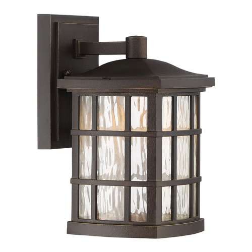Quoizel Lighting Quoizel Lighting Stonington LED Palladian Bronze Outdoor Wall Light SNNL8406PN
