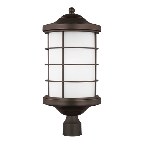 Sea Gull Lighting Sea Gull Sauganash Antique Bronze Post Light 8224451-71