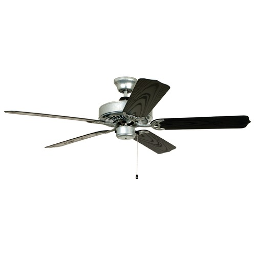 Craftmade Lighting Craftmade 52-Inch Galvanized Steel Outdoor Ceiling Fan without Light END52GV5X