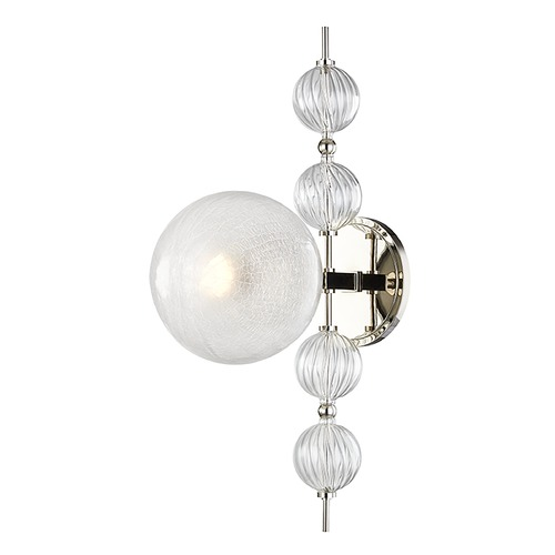 Hudson Valley Lighting Hudson Valley Lighting Calypso Polished Nickel Sconce 6400-PN
