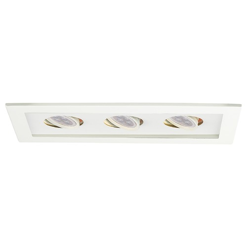 WAC Lighting Wac Lighting Mr16 Mult White LED Recessed Trim MT-316LED-WT/WT