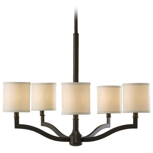 Feiss Lighting Modern Chandeliers in Oil Rubbed Bronze Finish F2519/5ORB