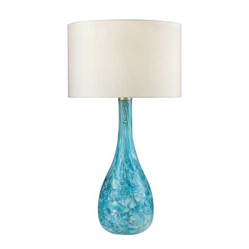 Dimond Lighting Dimond Lighting Seafoam Table Lamp with Drum Shade D2691