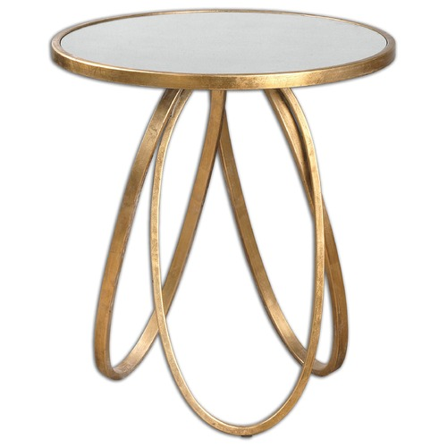 Uttermost Lighting Uttermost Montrez Gold Accent Table 24410