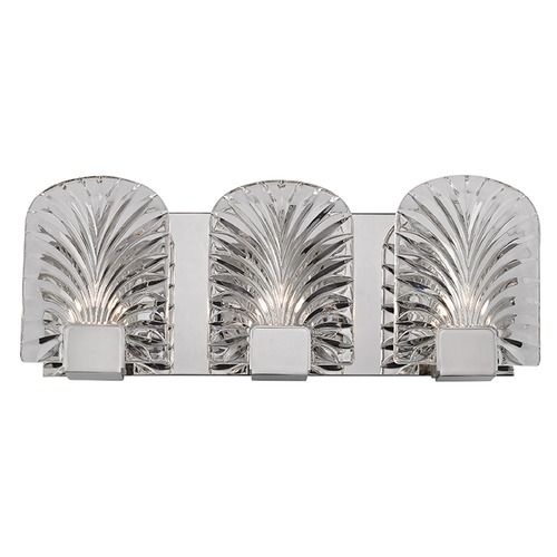 Hudson Valley Lighting Marcy ADA 3 Light Bathroom Light - Polished Nickel 8103-PN