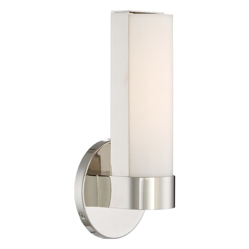 Nuvo Lighting Nuvo Lighting Bond Polished Nickel LED Sconce 62/721