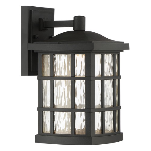 Quoizel Lighting Quoizel Lighting Stonington LED Matte Black Outdoor Wall Light SNNL8408K