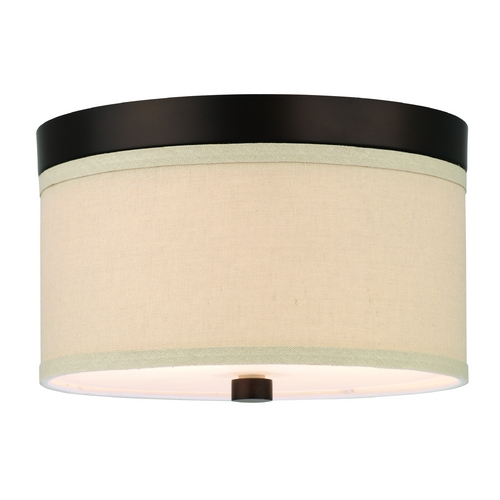 Philips Lighting Modern Flushmount Lights in Sorrel Bronze Finish F131720