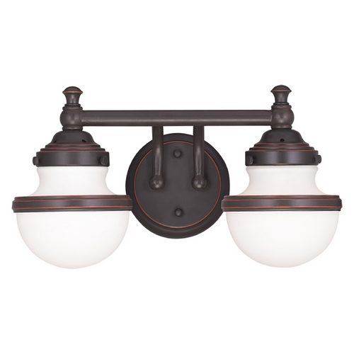Livex Lighting Livex Lighting Oldwick Olde Bronze Bathroom Light 5712-67