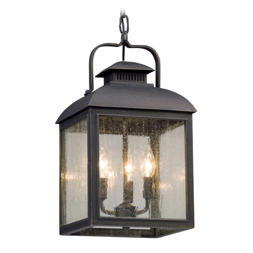 Troy Lighting Troy Lighting Chamberlain Vintage Bronze Outdoor Hanging Light F5087