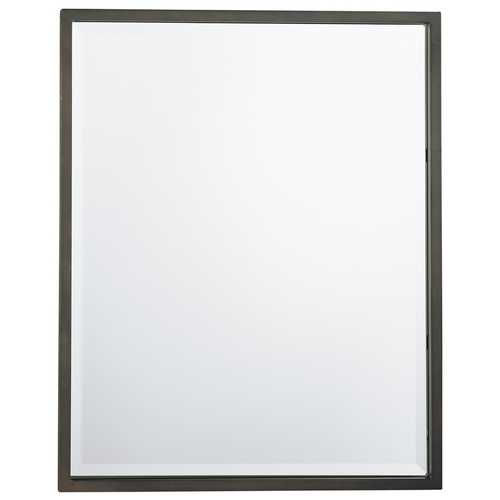 Feiss Lighting Dorchester Rectangle 24-Inch Mirror MR1046ORB