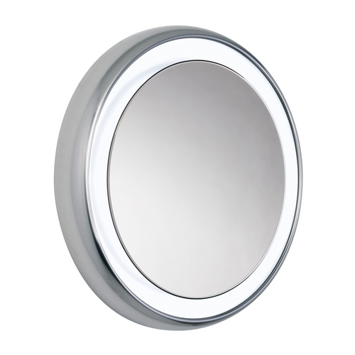 Tech Lighting Tigris Mirror Round Oval 24-Inch Illuminated Mirror 700BCTIGRS32S