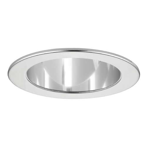 Recesso Lighting by Dolan Designs Clear Adjustable Reflector LED GU10 Trim for 4-Inch Recessed Cans T401C-CH