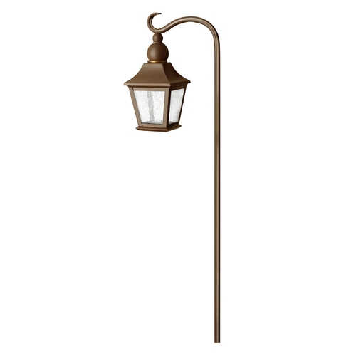 Hinkley Lighting Brass Constructed Low Voltage Lantern Path Light 1555CB