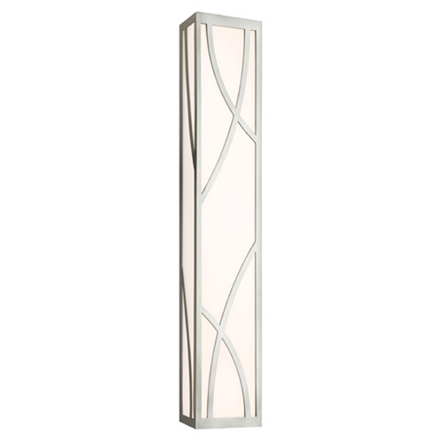 Sonneman Lighting Haiku Satin Nickel LED Bathroom Light - Vertical or Horizontal Mounting 2532.13