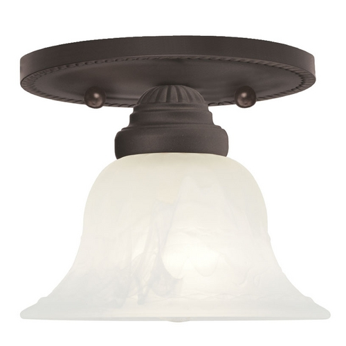 Livex Lighting Livex Lighting Edgemont Bronze Semi-Flushmount Light 1530-07