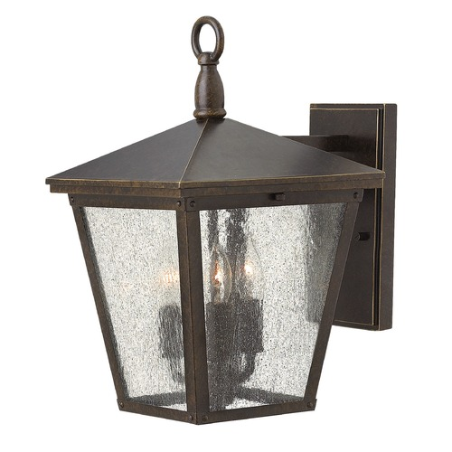 Hinkley Lighting Hinkley Lighting Trellis Regency Bronze LED Outdoor Wall Light 1429RB-LED