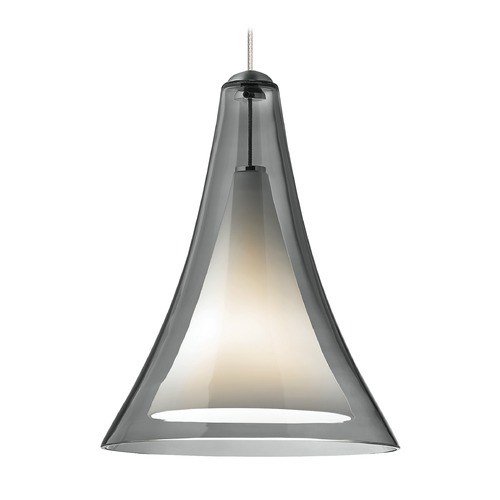 Tech Lighting Melrose Satin Nickel Mini-Pendant Light by Tech Lighting 12V 700MPMLPKS