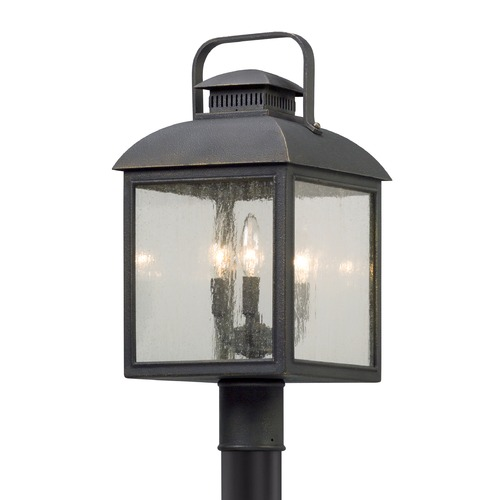 Troy Lighting Troy Lighting Chamberlain Vintage Bronze Post Light P5085