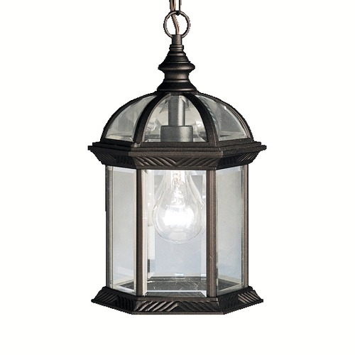 Kichler Lighting Kichler Lighting Barrie Black LED Outdoor Hanging Light 9835BKL16