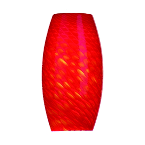 Philips Lighting Oblong Art Glass Shade - 1-3/4-Inch Fitter Opening F5171