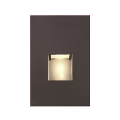 Recesso Lighting by Dolan Designs Bronze LED Recessed Step Light 2700K 20 Lumens STEPLT01-BZ