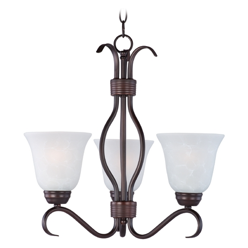 Maxim Lighting Maxim Lighting Basix Oil Rubbed Bronze Chandelier 10123ICOI