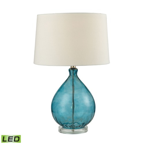 Dimond Lighting Dimond Lighting Teal LED Table Lamp with Empire Shade D2692-LED