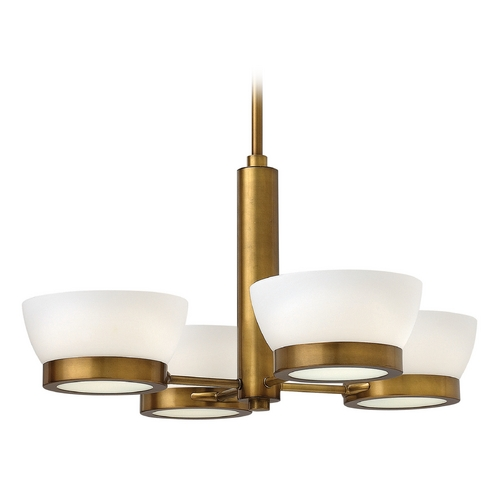 Hinkley Lighting Hinkley Lighting Mercer Heritage Brass Chandelier 3654HB